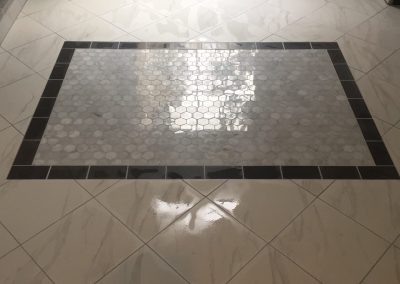 tiles in a bathroom