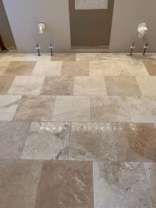 basement tile flooring