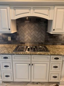 stovetop tile backsplash
