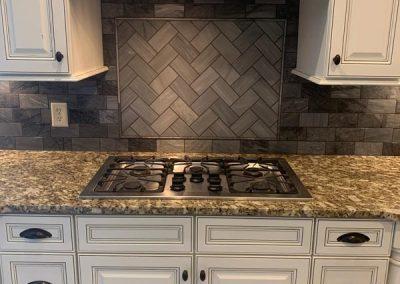 stovetop tile backsplash