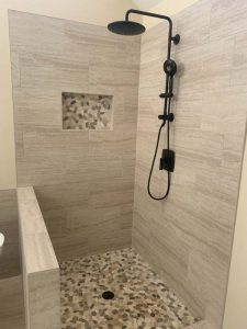 bathroom shower tile installers
